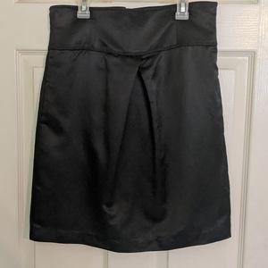 Silk and cotton skirt